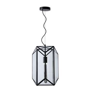 Lucide hanglamp Fern 2 - zwart - Leen Bakker