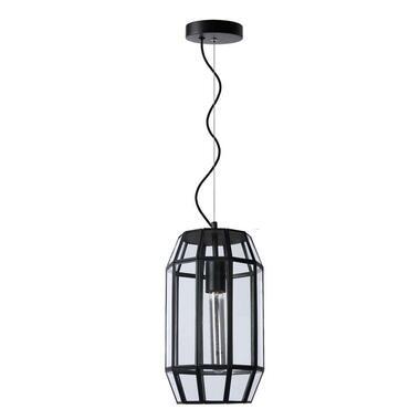 Lucide hanglamp Fern - zwart - 20 cm - Leen Bakker