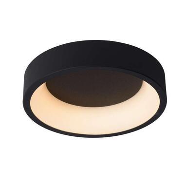 Lucide plafondlamp Talowe LED - zwart - 30 cm - Leen Bakker