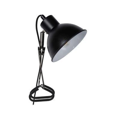 Lucide klemlamp Moys - zwart - Leen Bakker