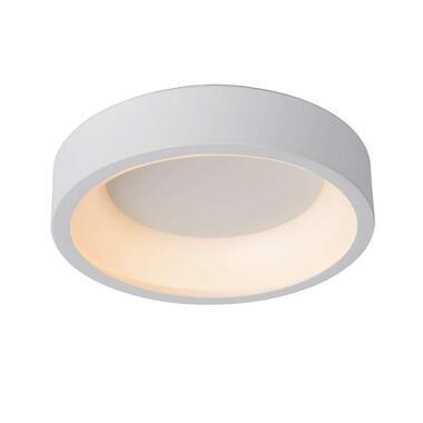 Lucide plafondlamp Talowe LED - wit - 30 cm - Leen Bakker