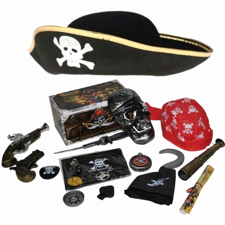 Verkleedset kinderen - Piraten set - Hoed, wapens en accessoires -