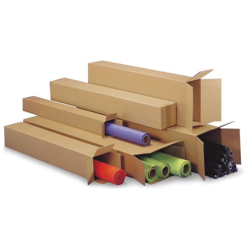 4x stuks lange Teckelbox dozen 80 x 10 x 10 cm -