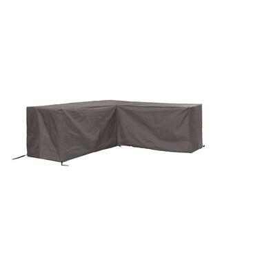 Outdoor Covers premium loungesethoes L-vorm 260Lx210R - grijs - Leen Bakker