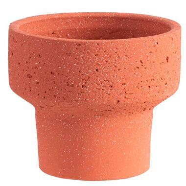 Bloempot Sintra - terracotta - 17x19 cm - Leen Bakker
