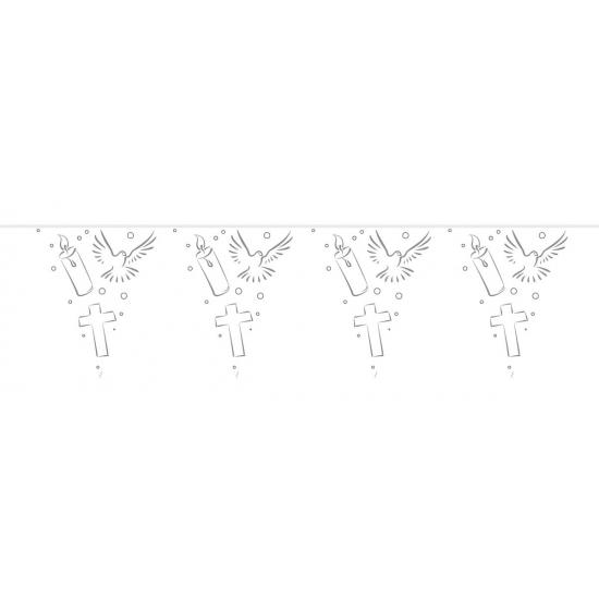 Communie versiering vlaggenlijn 10 meter -