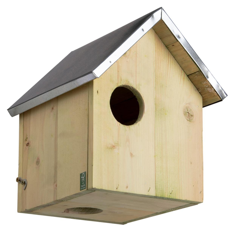 Houten eekhoorn nestkast 29 cm -