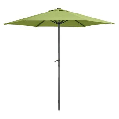 Le Sud parasol Blanca - Ø250 cm - groen - Leen Bakker