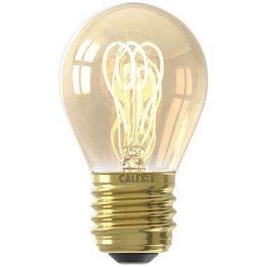 Calex LED kogellamp filament - goudkleur - 4W - E27 - Leen Bakker
