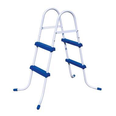 Bestway - zwembadtrap - blauw - 84cm - Leen Bakker