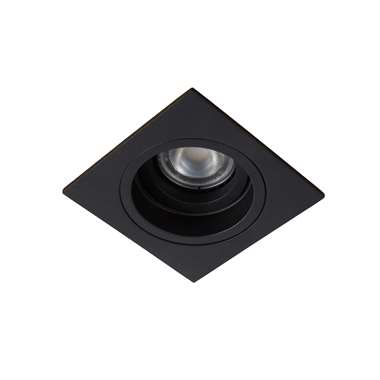 Lucide inbouwspot Embed vierkant - zwart - Leen Bakker