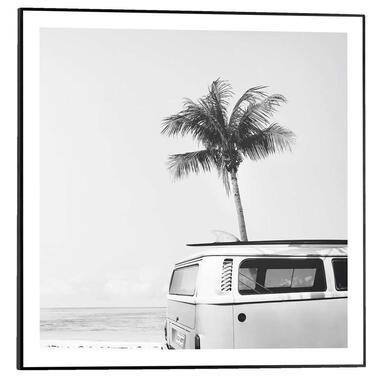Poster met lijst Summer Vibe - 50x50 cm - Leen Bakker