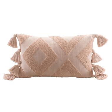 Sierkussen Jael - roze - 30x50 cm - Leen Bakker
