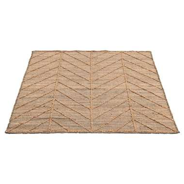 Vloerkleed Taftan - naturel - 160x230 cm - Leen Bakker