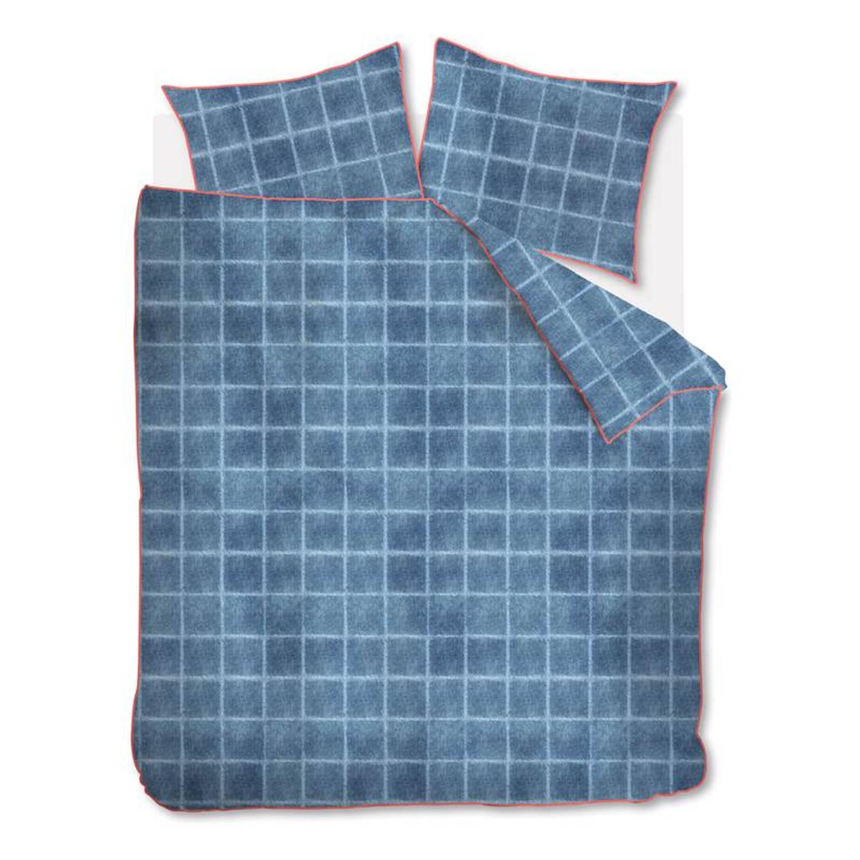 At Home With Marieke At Home Denim Dekbedovertrek - Lits-jumeaux (240x200/220 Cm + 2 Slopen) - Katoen - Blue