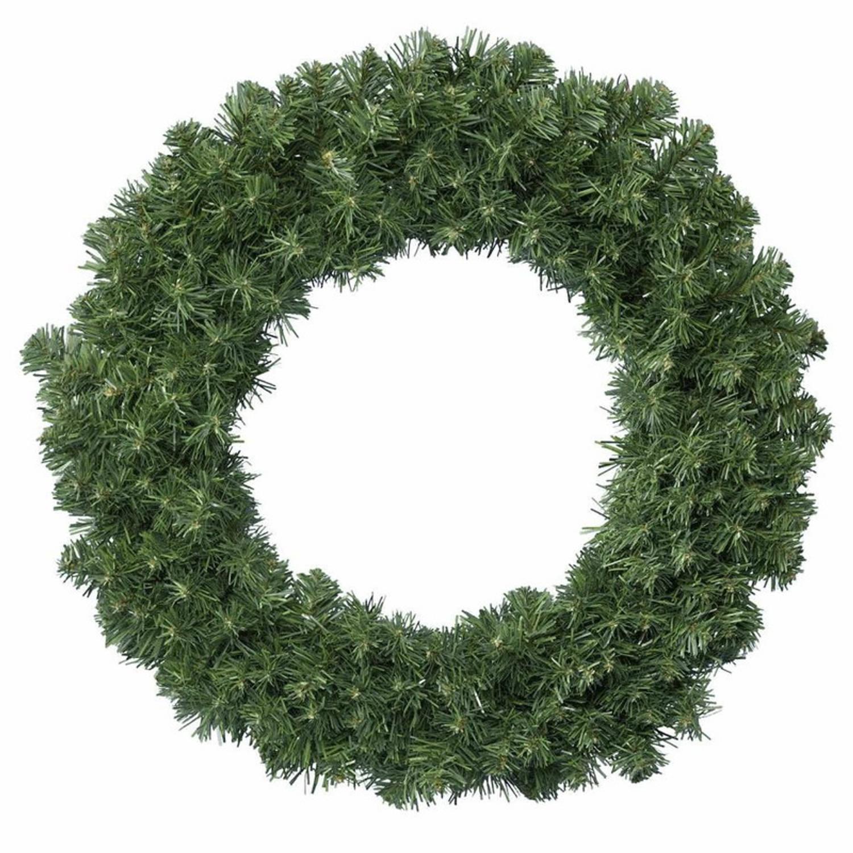 Groene Kerstkransen/dennenkransen 50 Cm Kerstversiering - Dennenkransen/kerstkransen/deurkransen