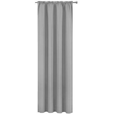 Gordijn Ben - lichtgrijs - 250x140 cm (1 stuk) - Leen Bakker