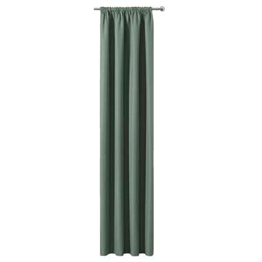 Gordijn Sam - lichtgroen - 250x140 cm (1 stuk) - Leen Bakker