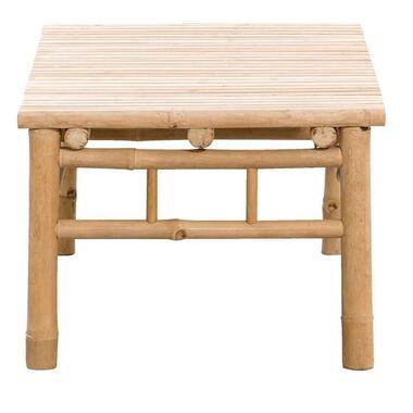 Loungetafel Tarifa - naturel - 90x50x35 cm - Leen Bakker