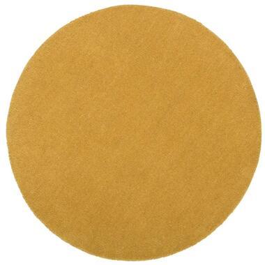 Vloerkleed Colours - oker - 68 cm - Leen Bakker