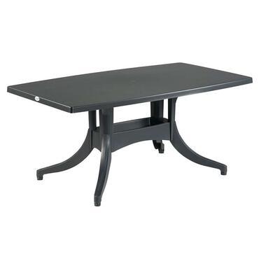 Hartman tafel Europa - antraciet - 160x90x72 cm - Leen Bakker