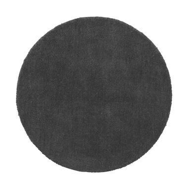 Vloerkleed Colours - charcoal - 68 cm - Leen Bakker