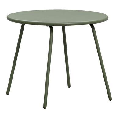 Bijzettafel Vilanova - olijfgroen - 50x60 cm - Leen Bakker