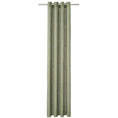 Gordijn Miami - groen - 250x140 cm (1 stuk) - Leen Bakker