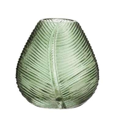 Vaas Richard - groen - 11,5x11 cm - Leen Bakker