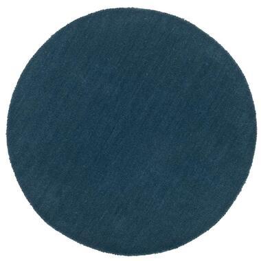 Vloerkleed Colours - petrol - 68 cm - Leen Bakker