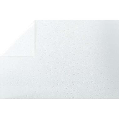 Bestfix plakfolie Waterdrop - transparant - 45 cm - Leen Bakker