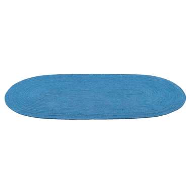 Vloerkleed Monaco - blauw - 70x140 cm - Leen Bakker