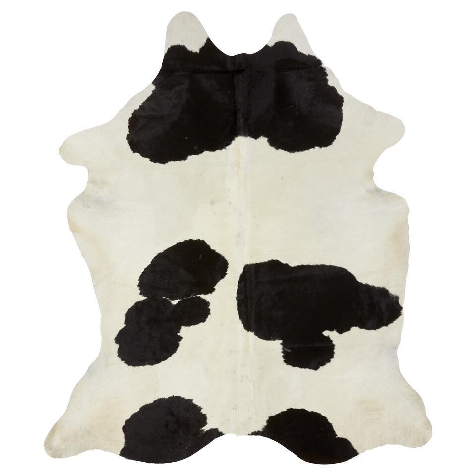 Vloerkleed Koeienhuid Zwart Wit