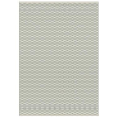 Floorita binnen/buitenvloerkleed Pallino - grijs - 155x230 cm - Leen Bakker