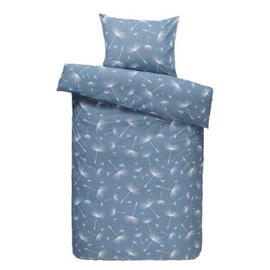 Comfort dekbedovertrek Myra - blauw - 140x200/220 cm - Leen Bakker