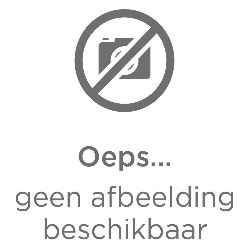 Comfort dekbedovertrek Ryan - grijsblauw -200x200/220 cm - Leen Bakker