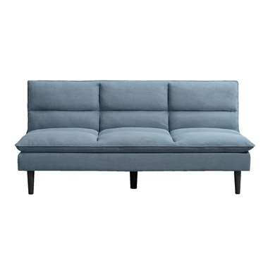 Slaapbank Antibes - blauw/grijs - Leen Bakker