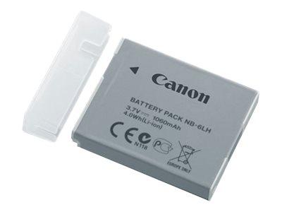 NB-6LH - Batterij voor camera Li-Ion 1060 mAh - voor PowerShot D30, S120, S200, SX170, SX510, SX520, SX530, SX540, SX600, SX610, SX700, SX710