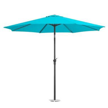 Le Sud parasol Blanca - aqua - Ø250 cm - Leen Bakker