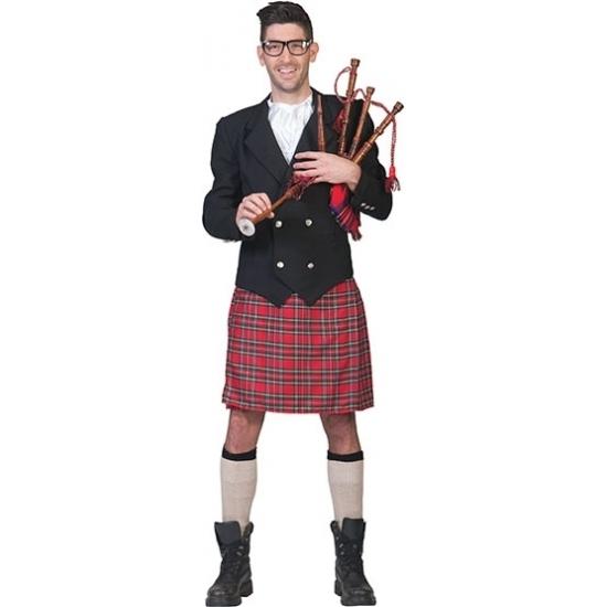 Compleet Schots kostuum voor heren 52-54 (L/XL) -