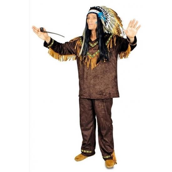 Indianen kostuum Hania voor heren 50/52 -
