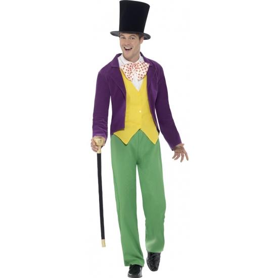 Willy Wonka kostuum voor heren 48-50 (M) -