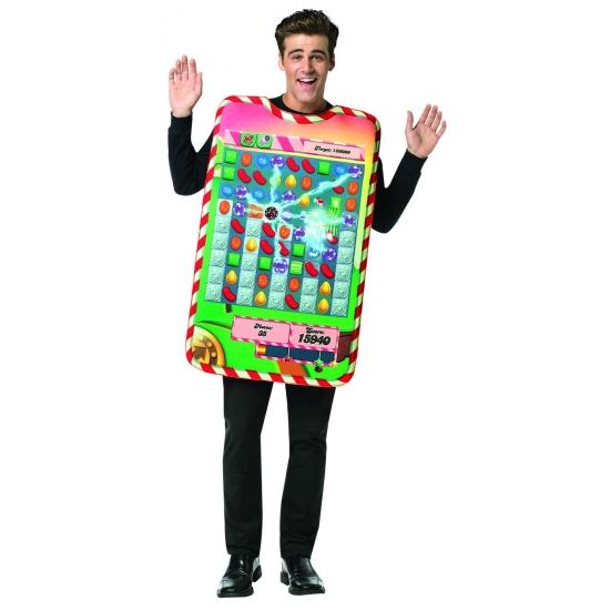 Candy Crush kostuum voor volwassenen Onesize (S-XL) -
